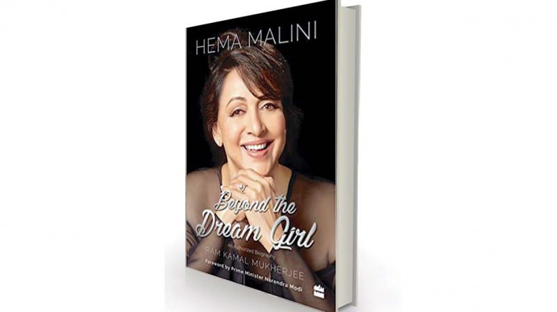 Hema Malini: Beyond The Dream Girl by Ram Kamal Mukherjee, HarperCollins, Rs 599.