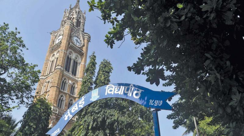 File picture of Mumbai University's Fort campus.