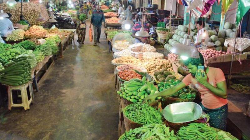The rate of price rise for the food articles was at 7.47 per cent during the month.