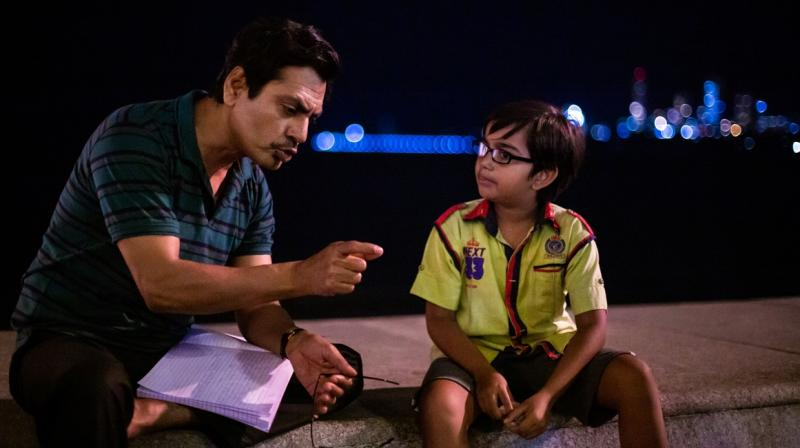Nawazuddin Sheikh (left) and Aakshath Das play the lead roles in Sudhir Mishra's film Serious Men.