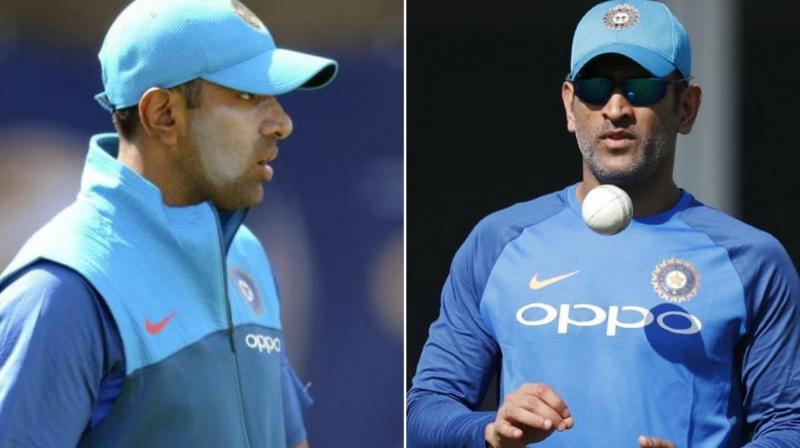 Former India captain Mahendra Singh Dhoni and senior off-spinner R Ashwin found themselves relegated from the top-paid bracket. (Photo: BCCI)