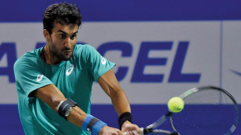 Yuki Bhambri (Photo: E.K. Sanjay)