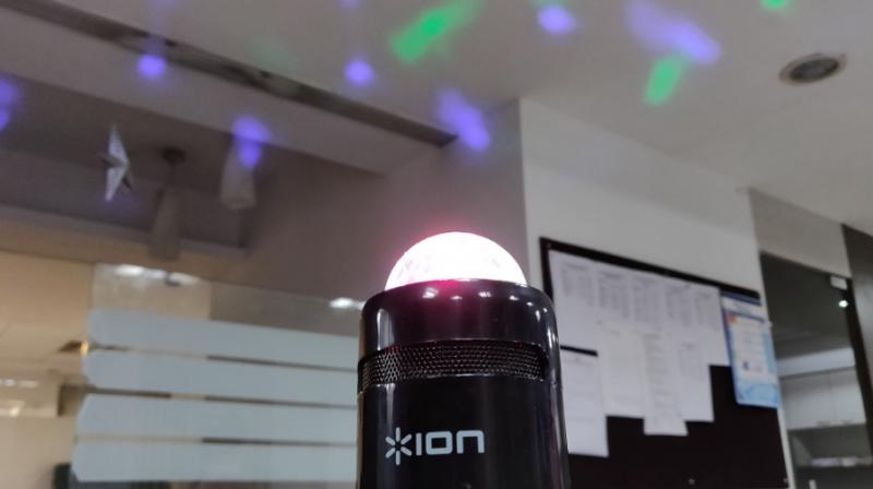 The ION Party Starter speaker is primarily meant for the young party animal looking to spice-up the small house get-to-gethers on weekends.