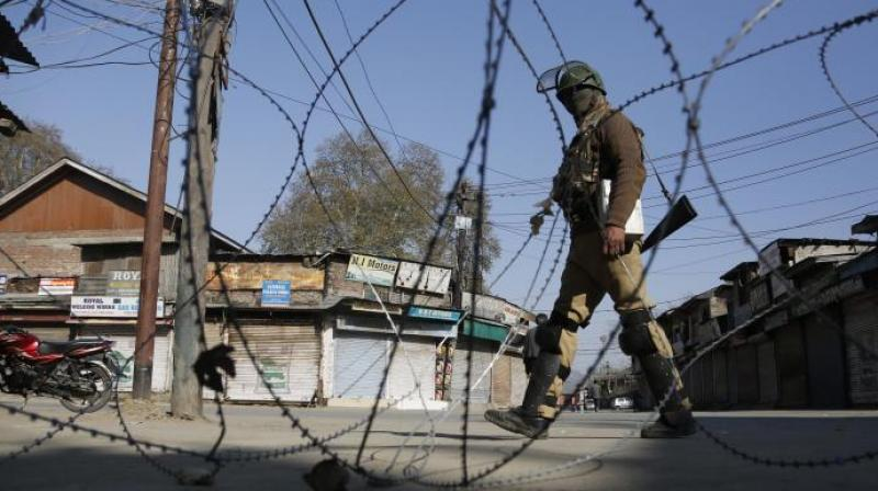While three civilians and a policeman succumbed to their injuries at a hospital that day, Dar and another police personnel were referred to SKIMS hospital in Srinagar. (Photo: Representational/AP)