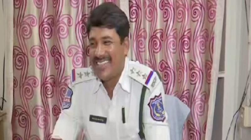 Telangana cop A Nagamallu (Photo: ANI)