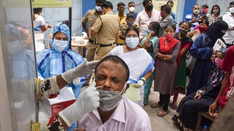 The coronavirus pandemic surge has devastated big cities including the capital and brought the healthcare system to its knees. (File/PTI)