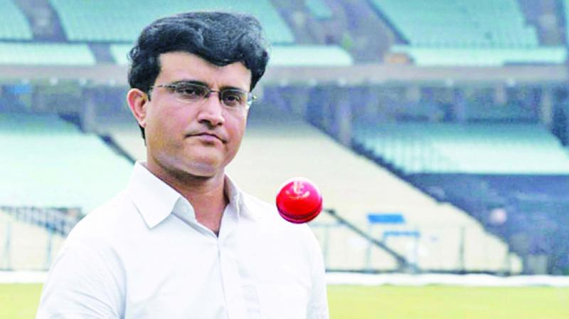 Sourav Ganguly thanked his former teammate, VVS Laxman, for the congratulatory message. (Photo: File)