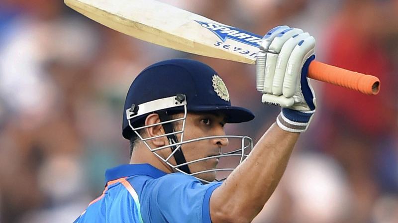 Chennai Super Kings' skipper Mahendra Singh Dhoni. AP Photo