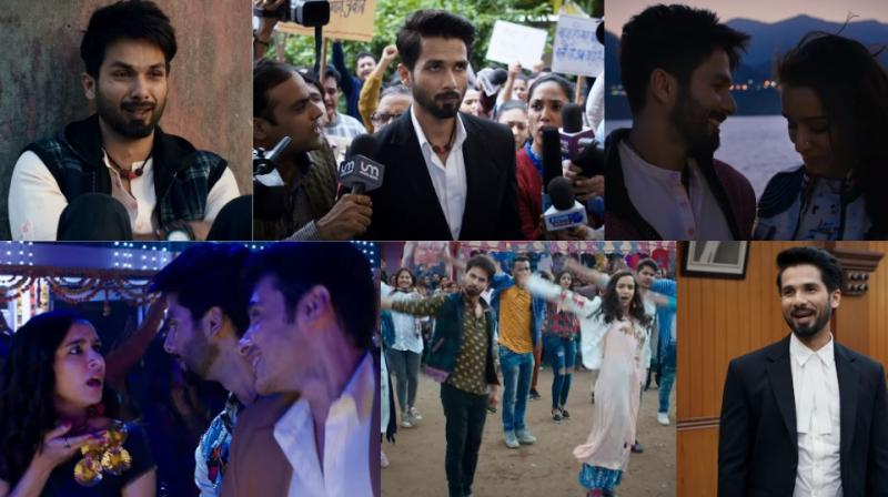 Screengrabs from the trailer of 'Batti Gul Meter Chalu.'