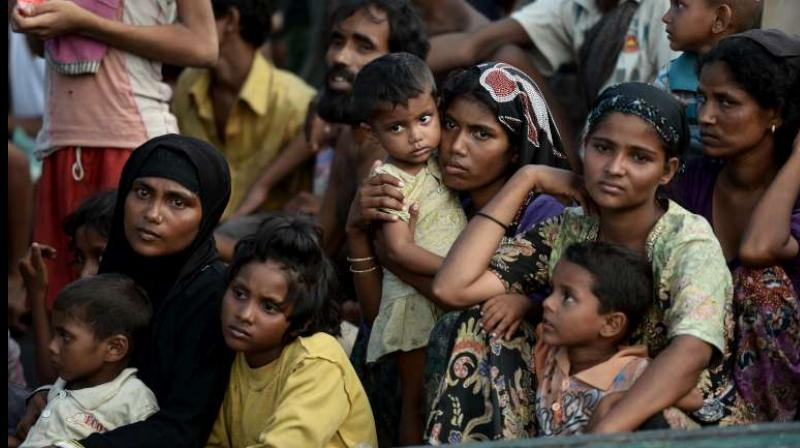 Some refugees living in overcrowded camps have alleged that Bangladeshi Buddhists, known locally as Moghs, have joined militias perpetrating atrocities across the border in Rakhine. (Photo: AFP)