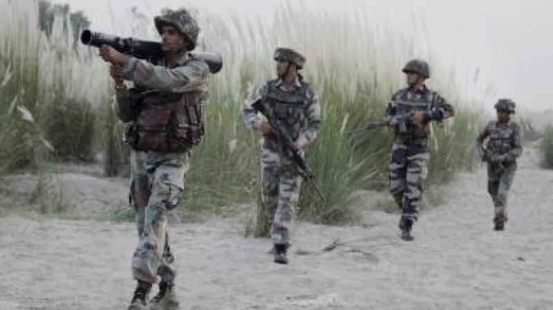 'If India dares to launch a surgical strike inside Pakistan, it will face 10 surgical strikes in response,' Ghafoor was quoted as saying by Radio Pakistan. (Photo: Representational | AP)