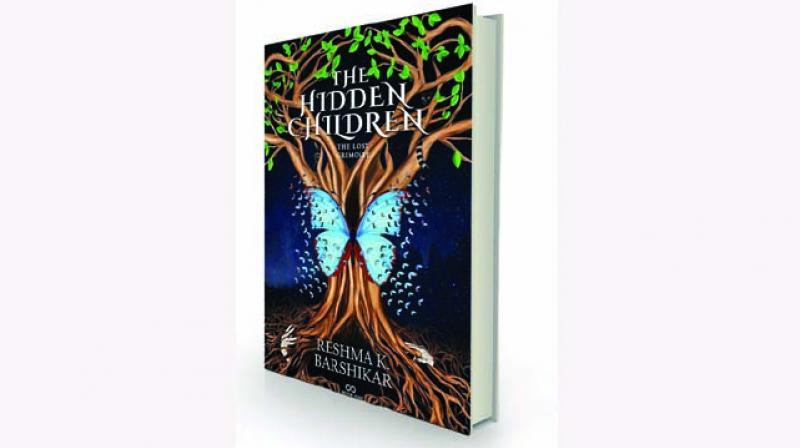 The Hidden Children by Reshma K. Barshikar Two Ravens,  Rs 299