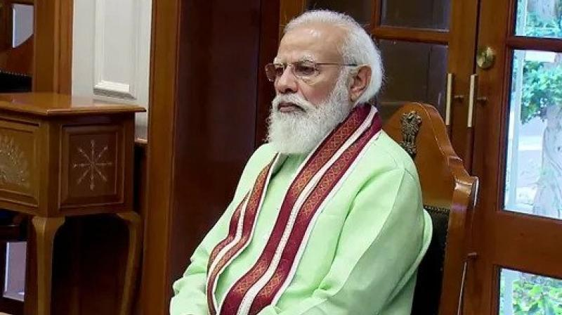 Mr Modi's problems are rooted in India's geopolitical location, culture, identity and aspirations. (ANI)