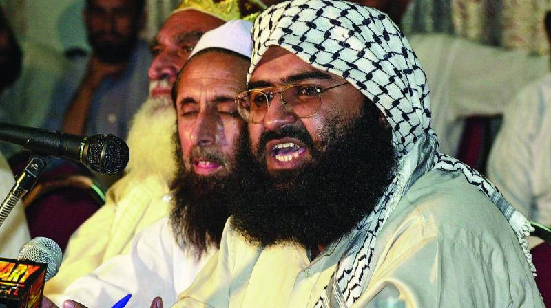 Jaish-e-Mohammad chief Masood Azhar. (Photo: File | AFP)