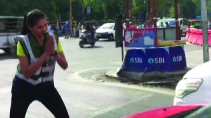 Shubhi Jain in action
