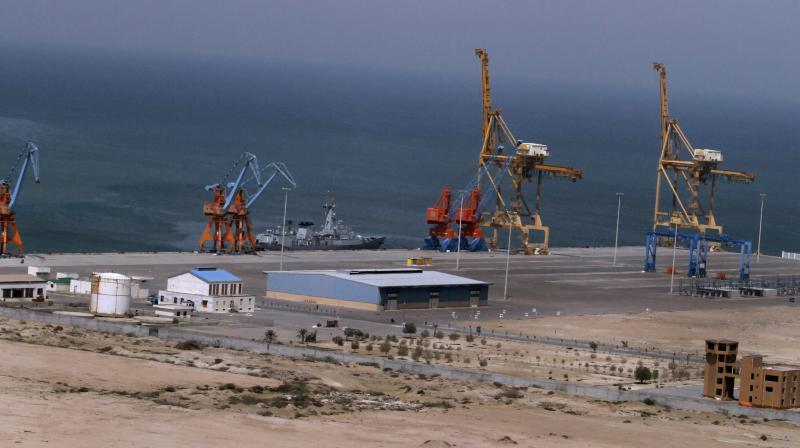 'The first beneficiaries of this port will be the people of Gwadar,' chairman of the Gwadar Port Authority, told reporters. (Photo: AP)