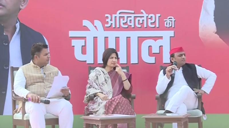 'They (BJP) are confused and don't know what to do where,' Akhilesh said at the event. (Photo: Twitter | @yadavakhilesh)