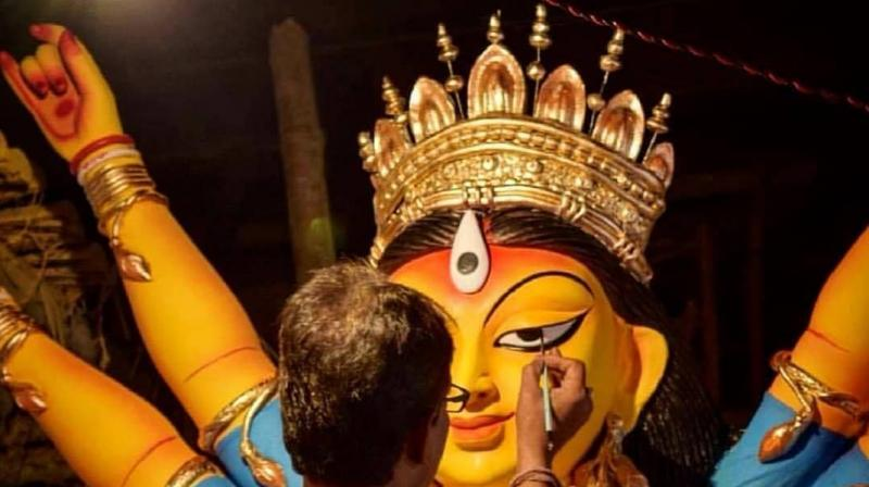 Durga puja is celebrated with a lot of zeal by Bengalis all over. (Photo: Instagram)