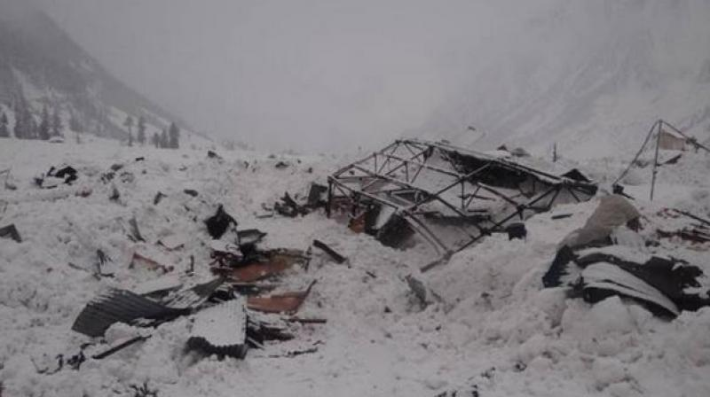 'There were seven people on board. While one of them, a child, was found unharmed near the site where the avalanche hit Sumo cab, six other passengers including driver are missing,' a police official said. (Representational Image)