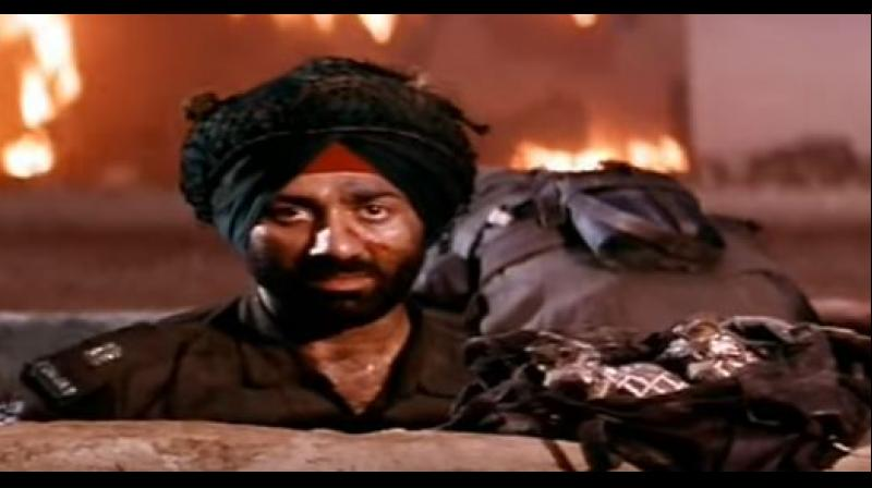 Sunny Deol from the movie 'Border' (Photo: Screengrab Youtube)