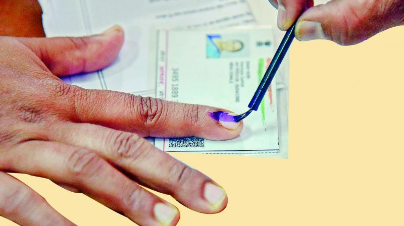 While Lok Sabha elections in West Bengal are spread across all the seven phases, they will be held in two phases each in Tripura and Manipur and three in Assam. (Representational image)