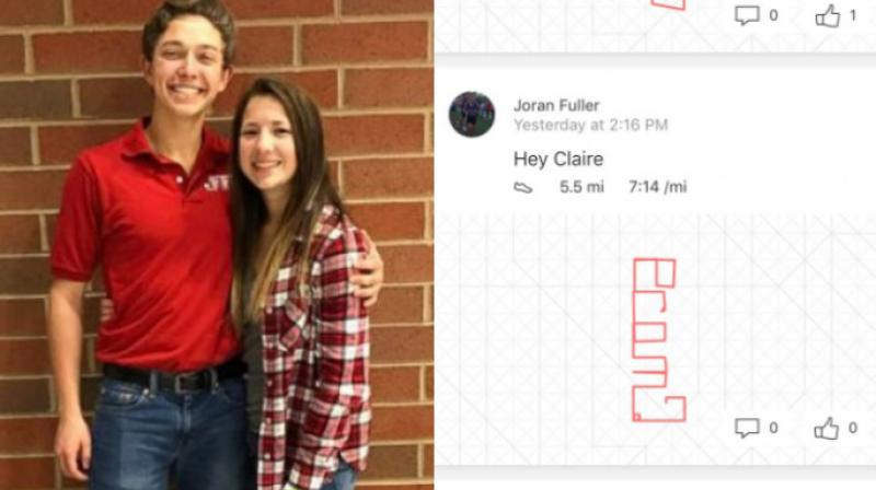 The proposal tweet has gone viral with over 15,000 retweets and 1,14,000 likes and people are quite impressed with guy's creativity.
