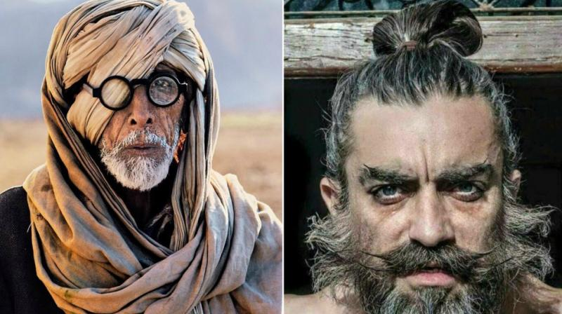 Amitabh Bachchan and Aamir Khan's alleged leaked looks from 'Thugs Of Hindostan'.