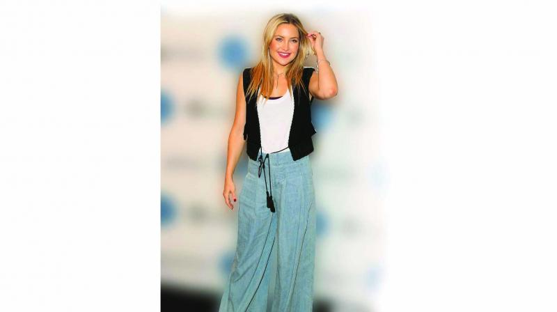 Kate Hudson slays in these comfy bell bottoms
