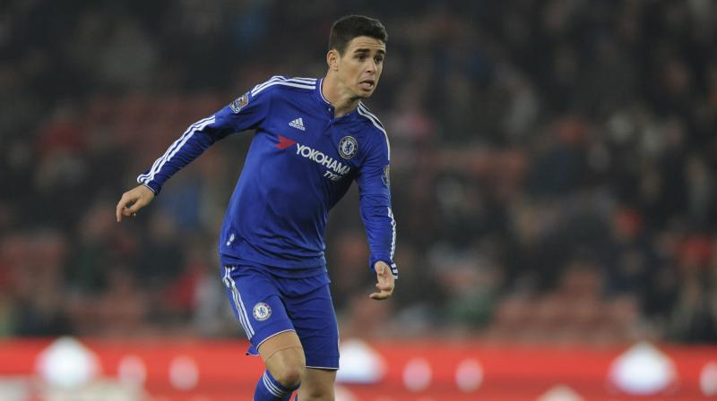 As well as Asia's record signing, Oscar will also become Chelsea's biggest sale, beating compatriot David Luiz's £50 million move to Paris Saint Germain in 2014. (Photo: AP)