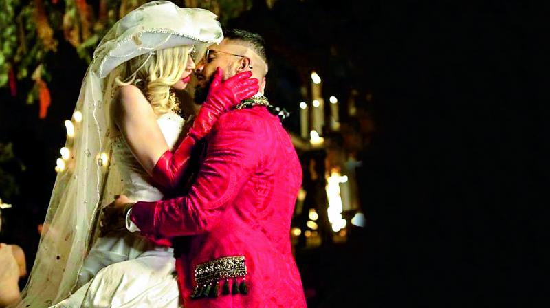Madonna and Maluma in MadamX
