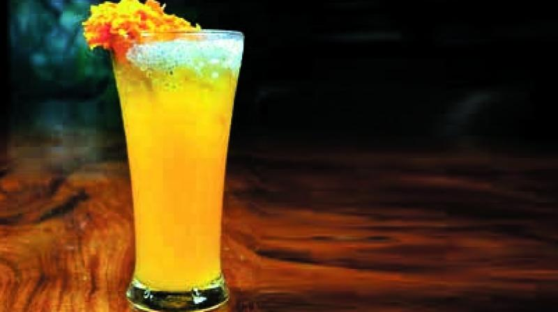 Marigold cocktail