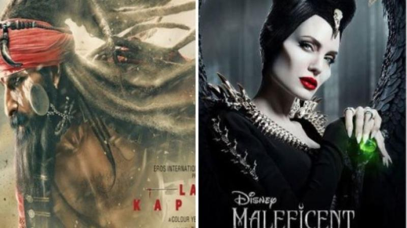 Laal Kaptaan Has Slow Pace Maleficent 2 Leads Day One At