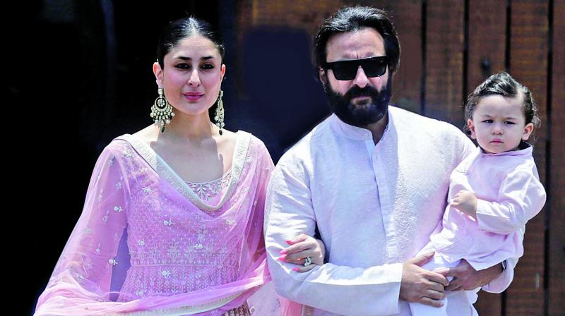 """""""Taimur has become such a poser, it worries his parents."""" —Family Friend"""