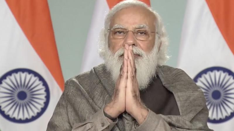 Modi said the number of marginal farmers with small landholdings had increased from 51 per cent in 1971 to 86 per cent at present. — PTI