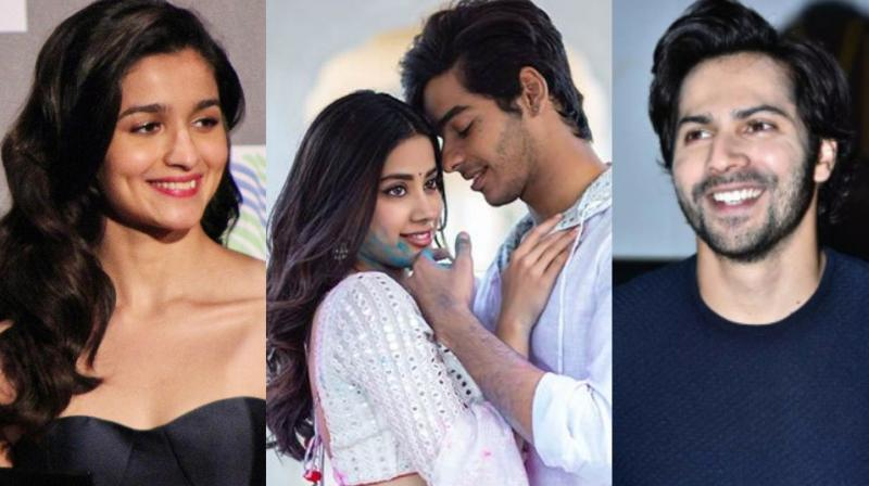 Varun Dhawan and Alia Bhatt were also launched by Karan Johar like Ishaan Khatter and Janhvi Kapoor.
