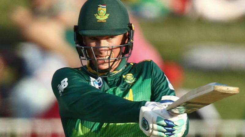South Africa batsman Rassie van der Dussen will make his test debut in the first match of the series against England starting on Thursday. (Photo:AFP)