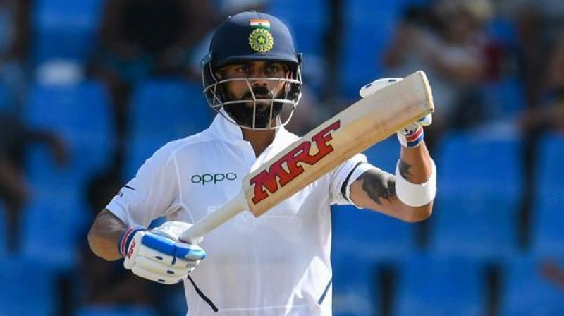 India captain Virat Kohli has been named in the Cricketers of the decade list alongside four others by the Wisden Cricketers' Almanac. (Photo:AFP)