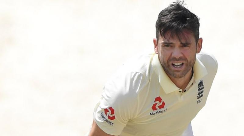 Pacer James Anderson on Thursday became the second English cricketer to play 150 Test matches. (Photo:Twitter)