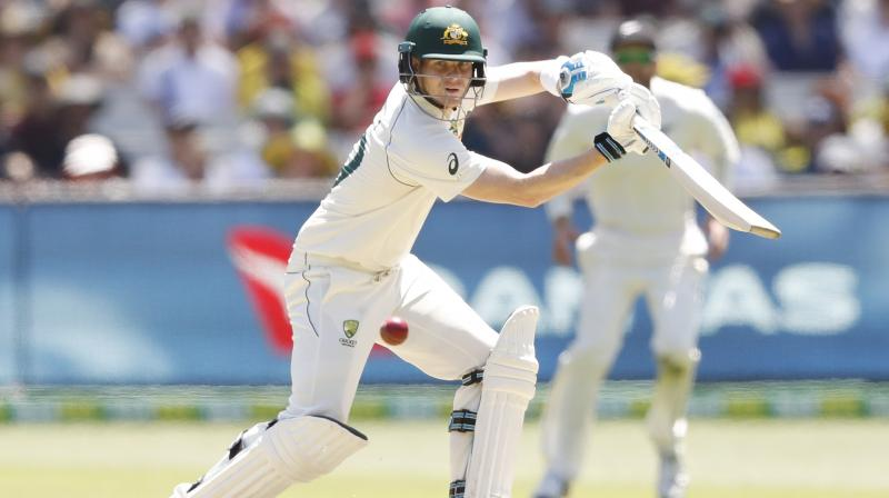 Walking to the crease at the fall of Australia's second wicket, in front of a record crowd of more than 80,000 — the biggest attendance ever for a day's play in an Australia-New Zealand test Steve Smith was greeted by a mixture of boos and cheers. (Photo:Twitter)