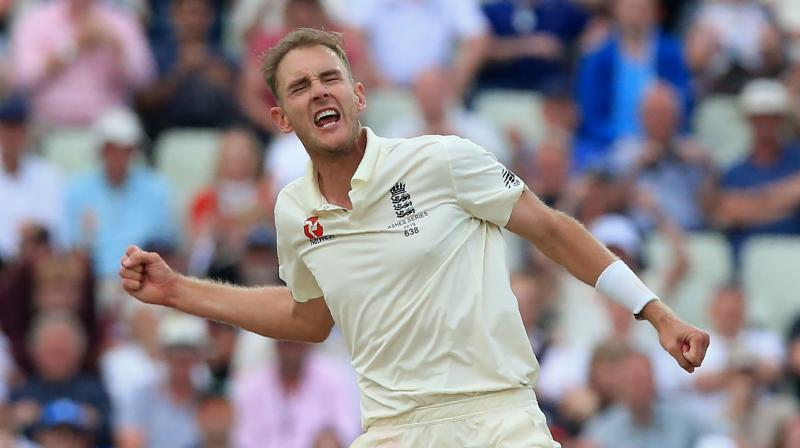 England pacer Stuart Broad became the second bowler to scalp 400 wickets in this decade on Thursday. (Photo: AFP)