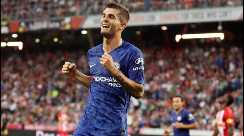 Chelsea midfielder Pulisic: I'm not trying to replace Hazard