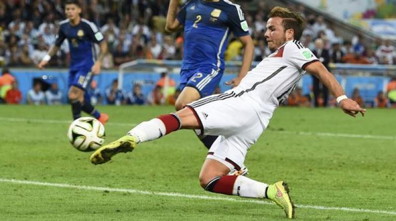 Germany midfielder Mario Goetze, who was not included in the squad for the 2018 FIFA World Cup, said omission was 'really tough' for him to take. (Photo: Twitter/Bayern Munich)