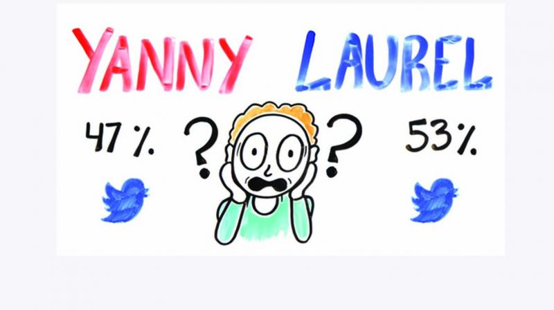 The viral audio clip of a robot where some people hear 'Yanny' and other people hear 'Laurel' has taken internet by storm and is akin to the picture of the dress that created much confusion and intrigue online.