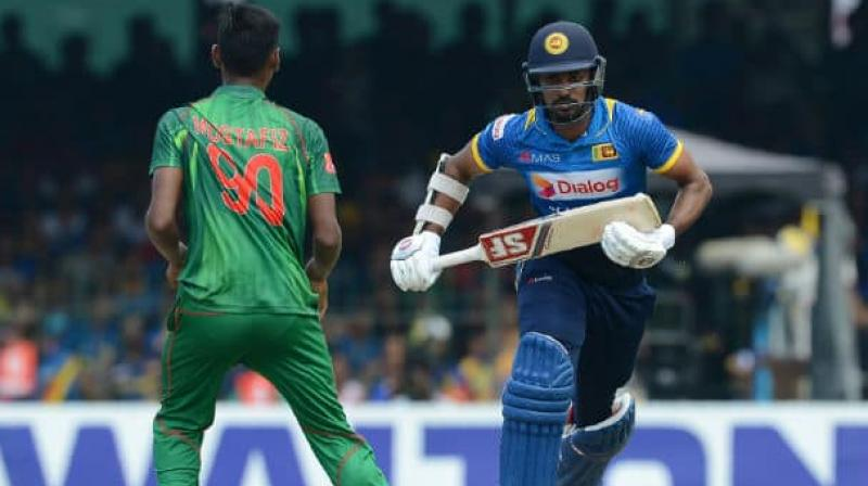 Retiring fast bowler Lasith Malinga is in the focus as Sri Lanka and Bangladesh players prepare for their first series after the World Cup. (Photo:AFP)