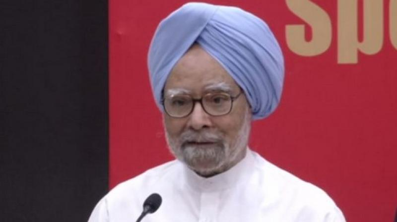 Former prime minister Manmohan Singh congratulated Indian-origin economist Abhijit Banerjee on Monday for getting the Nobel Prize and said his work on poverty alleviation and development of new techniques was truly pathbreaking. (Photo: File)