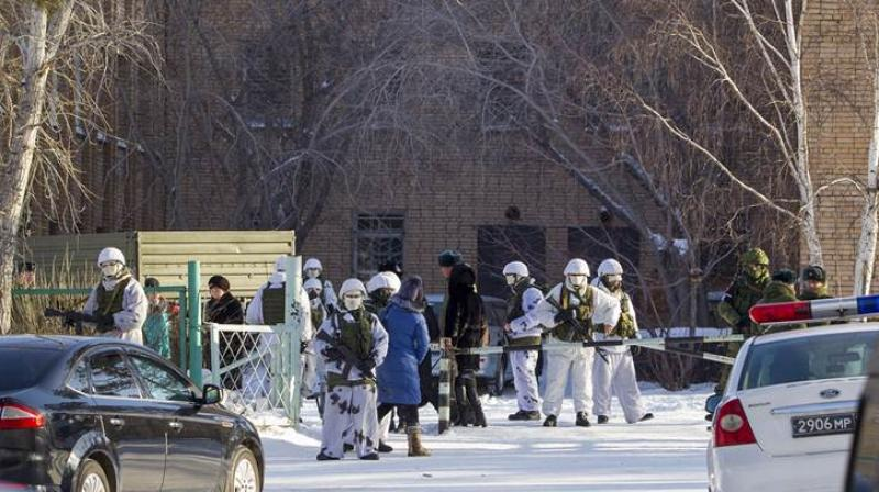 According to investigative committee, five students and one teacher were injured in the attack.(Photo: AP)