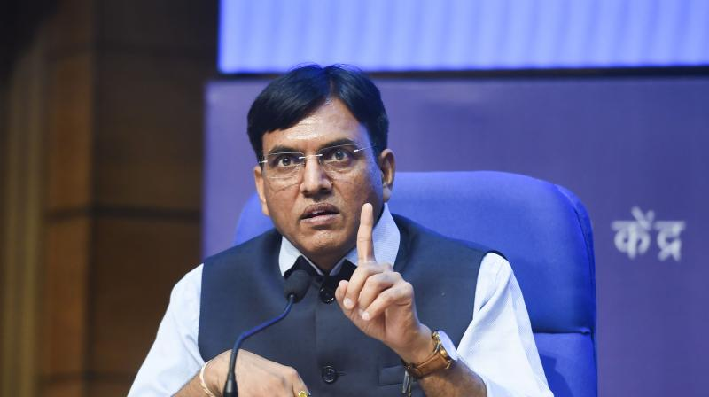 Minister of State for Chemicals and Fertilisers Mansukh Mandaviya on Wednesday said the Cabinet has approved increasing the subsidy amount for DAP fertiliser for the benefits of farmers. (Photo:PTI)