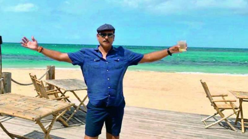 Even if COVID-19 hadn't shut the world down, Shastri would in all probability have been at the Alibaug establishment at this time of the year, because the IPL would have been in full swing.