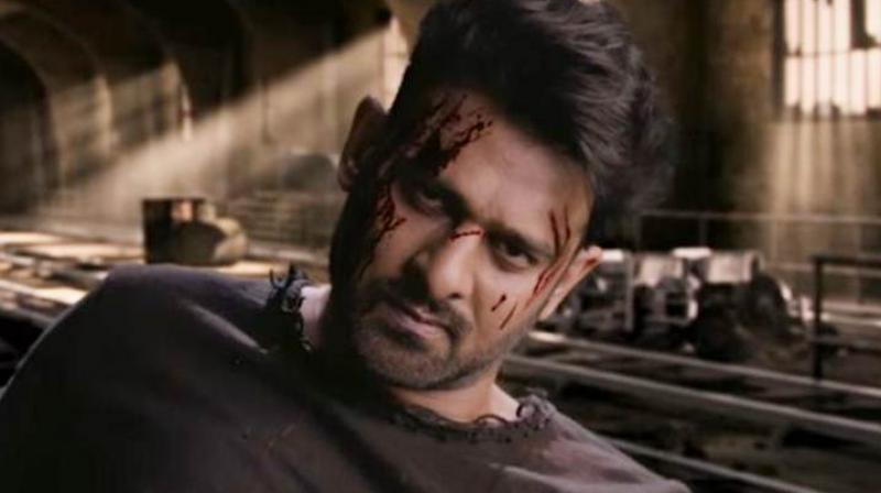 Prabhas in a still from 'Saaho' teaser.