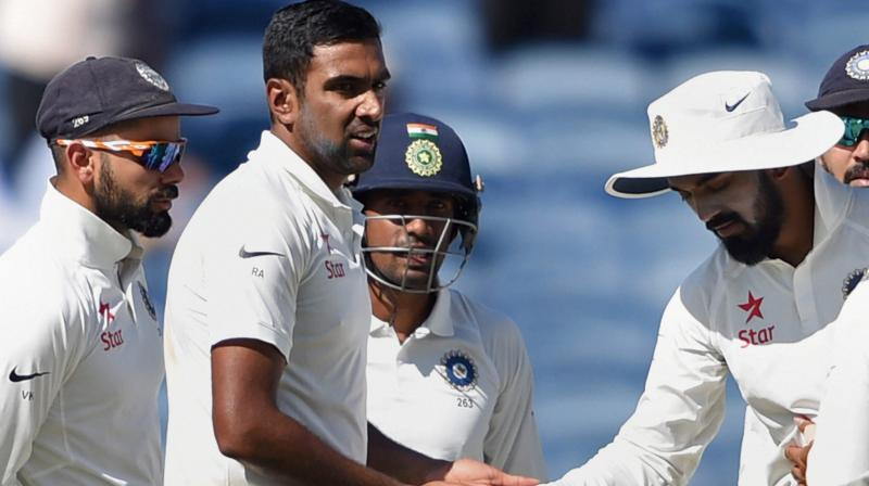 R Ashwin has scalped 64 wickets in 10 Test matches. (Photo: PTI)